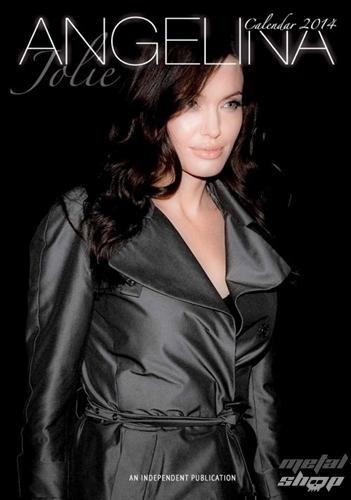 kalendár na rok 2014 Angelina Jolie
