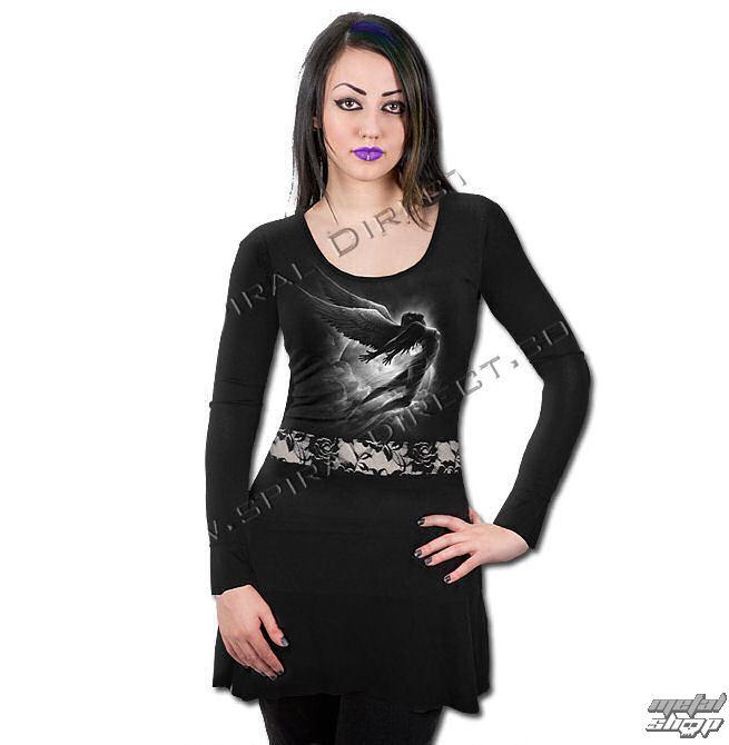 šaty dámske s dlhým rukávom SPIRAL - Sky Angel - DT217308