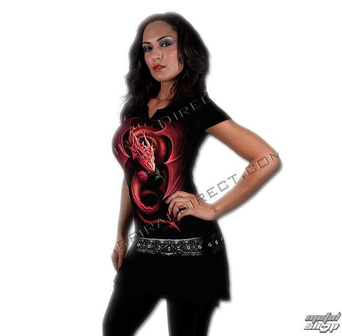 šaty dámske SPIRAL - Red Rose Dragon - TR341255