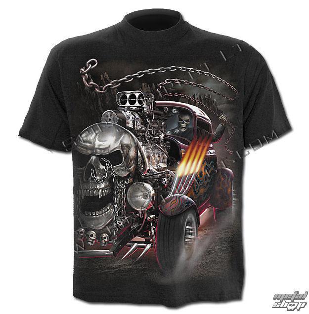 tričko pánske SPIRAL - Death On Wheels - TR351600