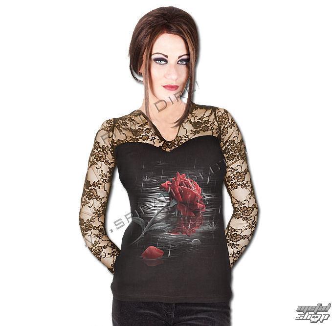 tričko dámske s dlhým rukávom SPIRAL - Rose Reflections - TR352283