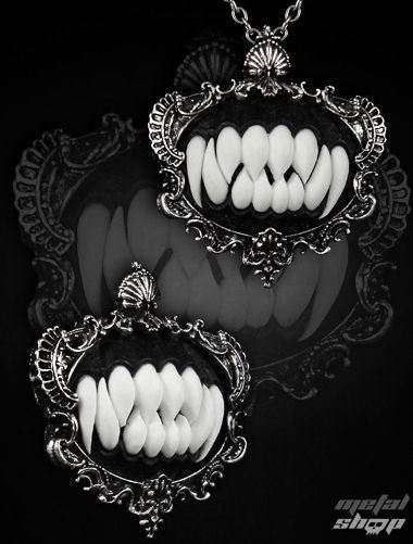 obojok RESTYLE - Necromancer - Black - 0106