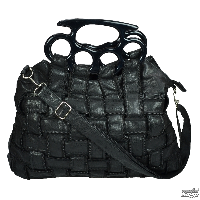 taška (kabelka) POIZEN INDUSTRIES - Jade - BLACK - metalshop.sk 37ba9805415