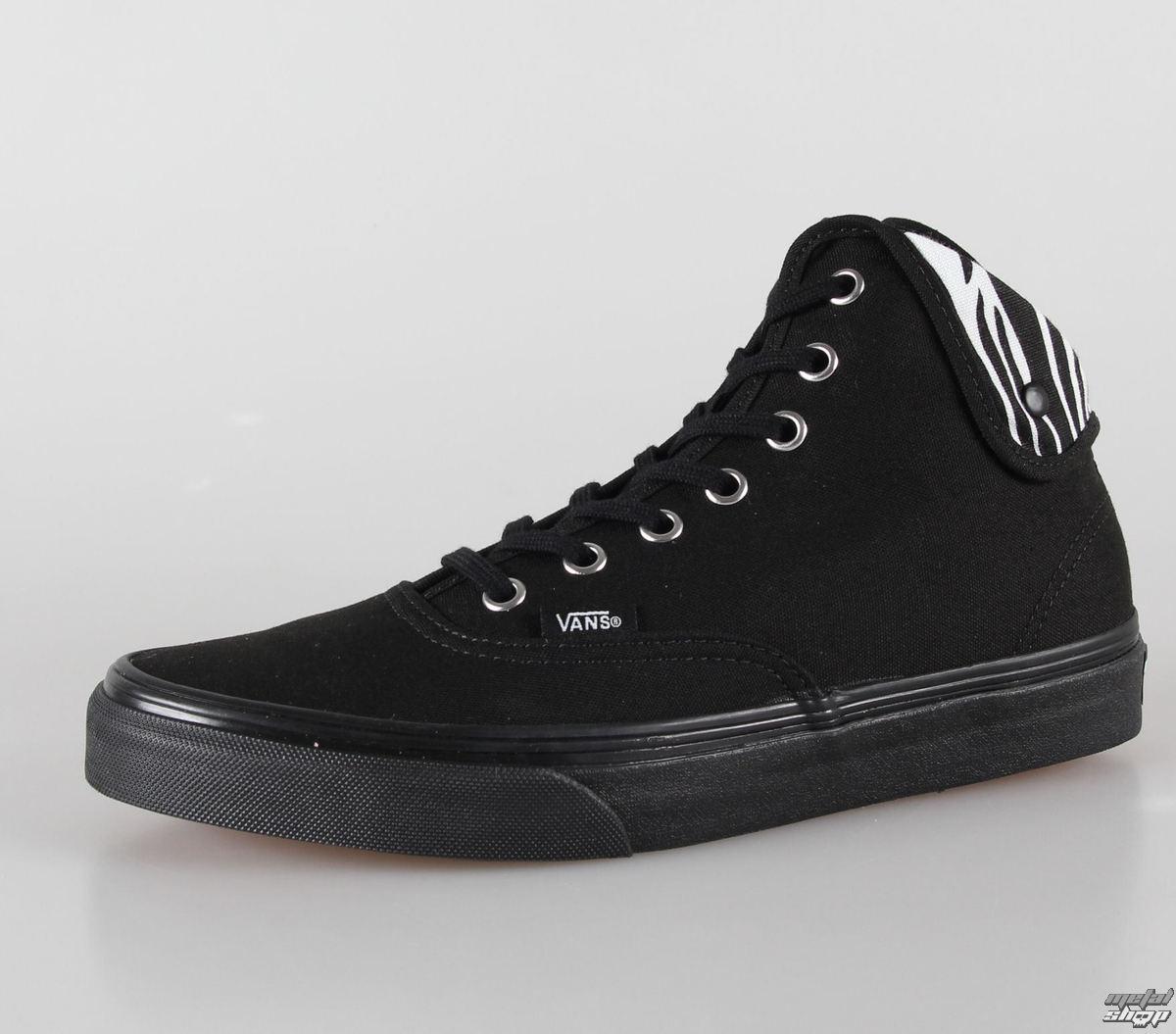 topánky VANS - U Authentic Hi 2 - (Zebra) black/black - VUC14KI