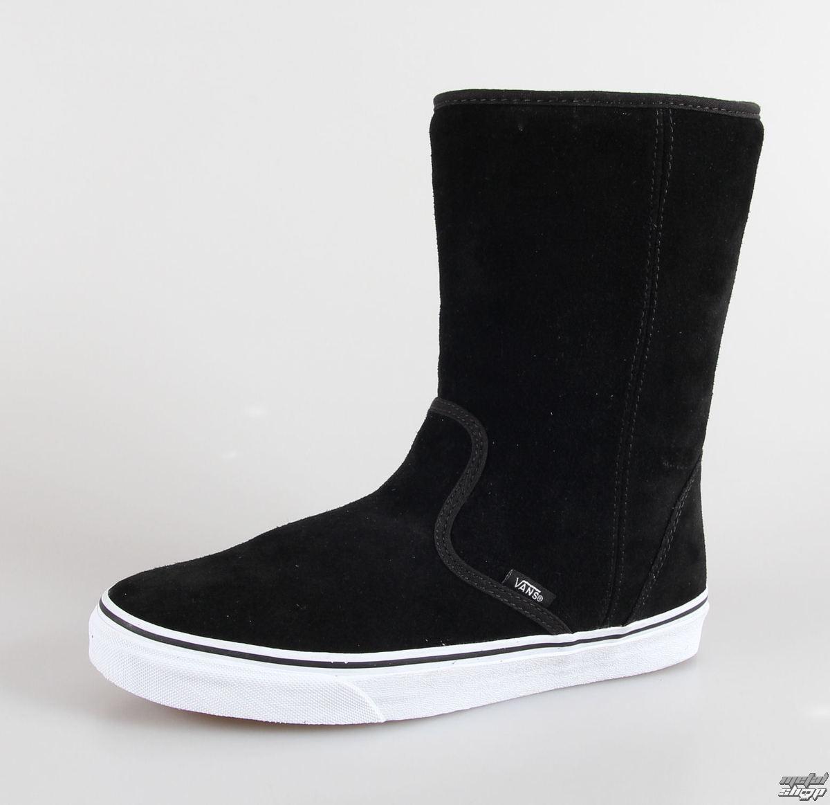 topánky VANS - U SLIP-ON Boot - (Suede) black - VQG4A60