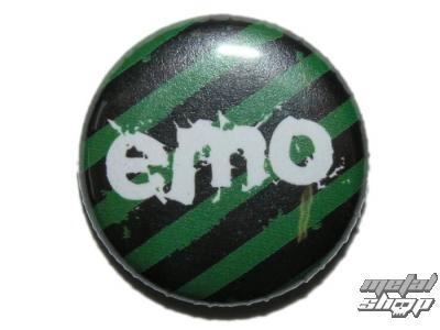 odznak malý- ZAKR - Emo - (134)