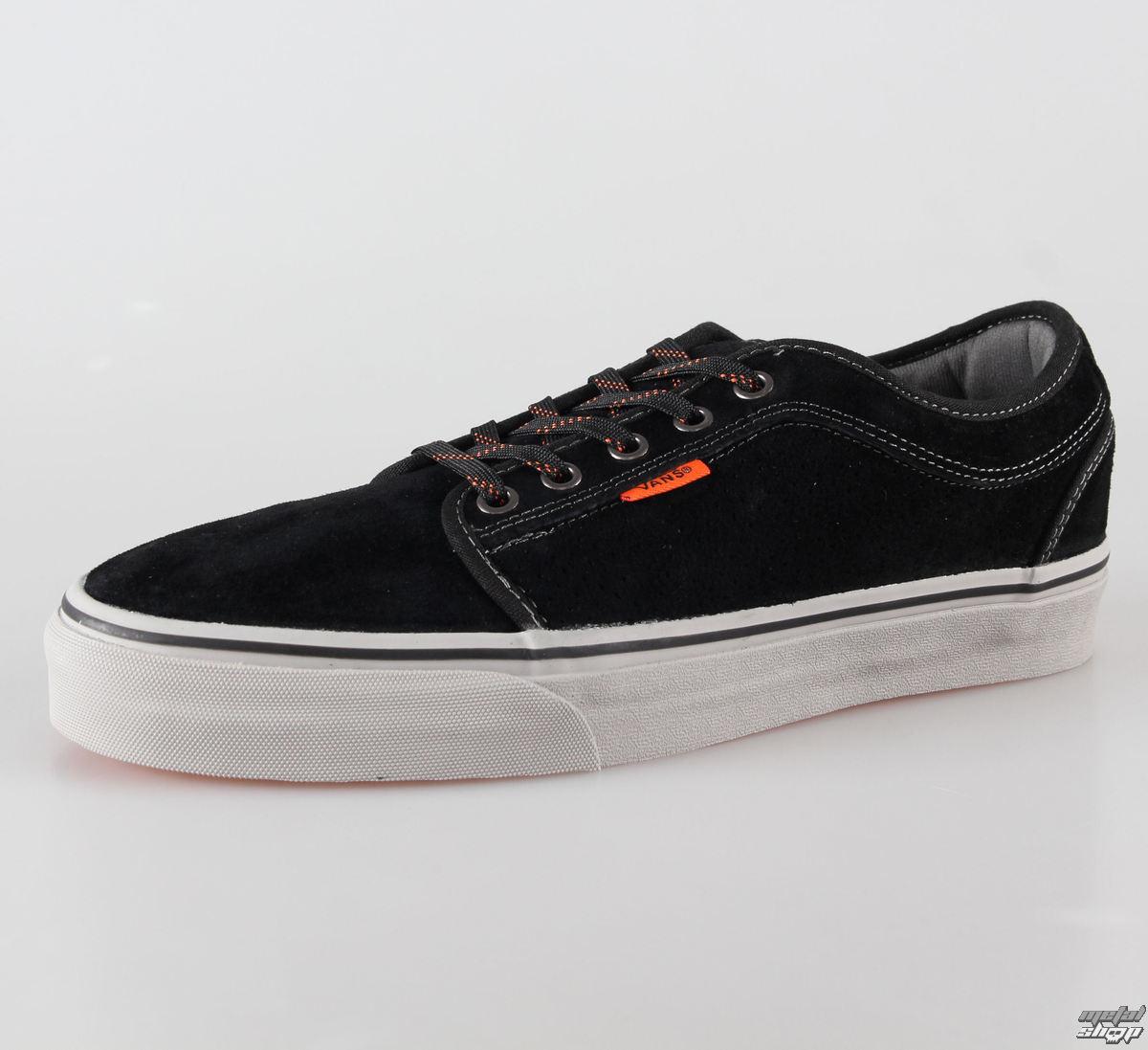 topánky pánske VANS - Chukka Low - Black/Grey/Orange - VNKA0ZN