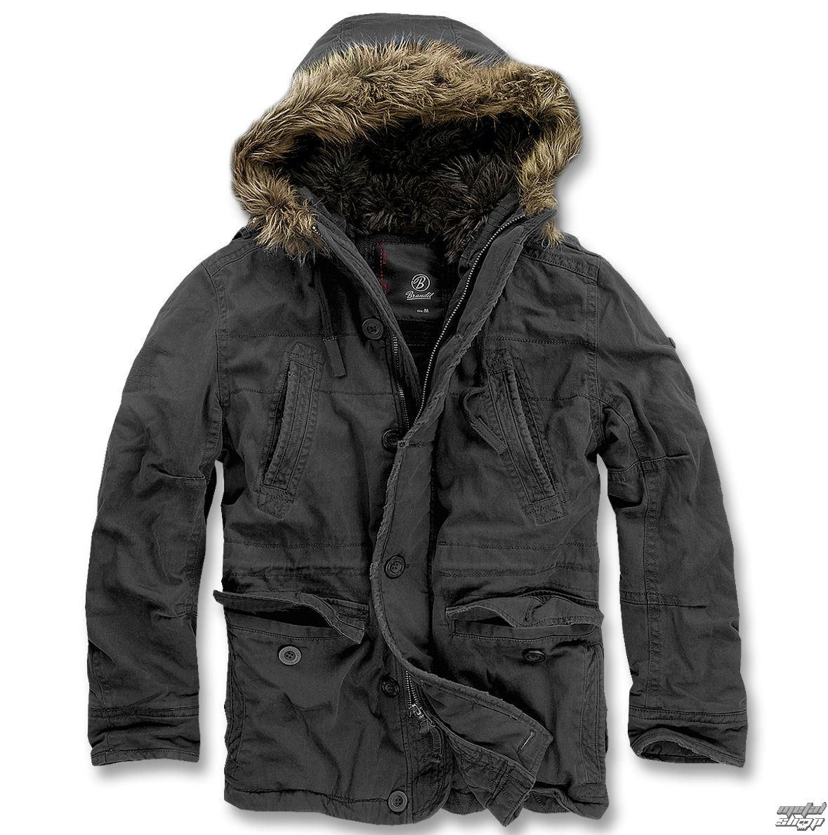 bunda pánska zimný BRANDIT - Vintage Explorer Black - 3120/2