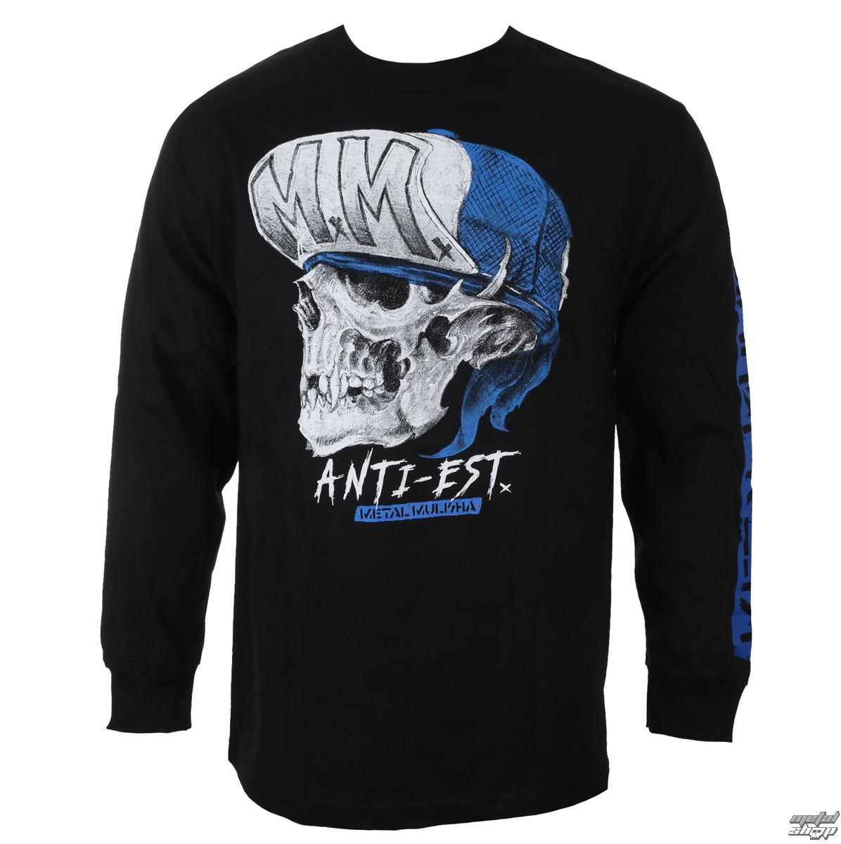 tričko pánske s dlhým rukávom METAL MULISHA - ANTI - BLK_FA7519007.01
