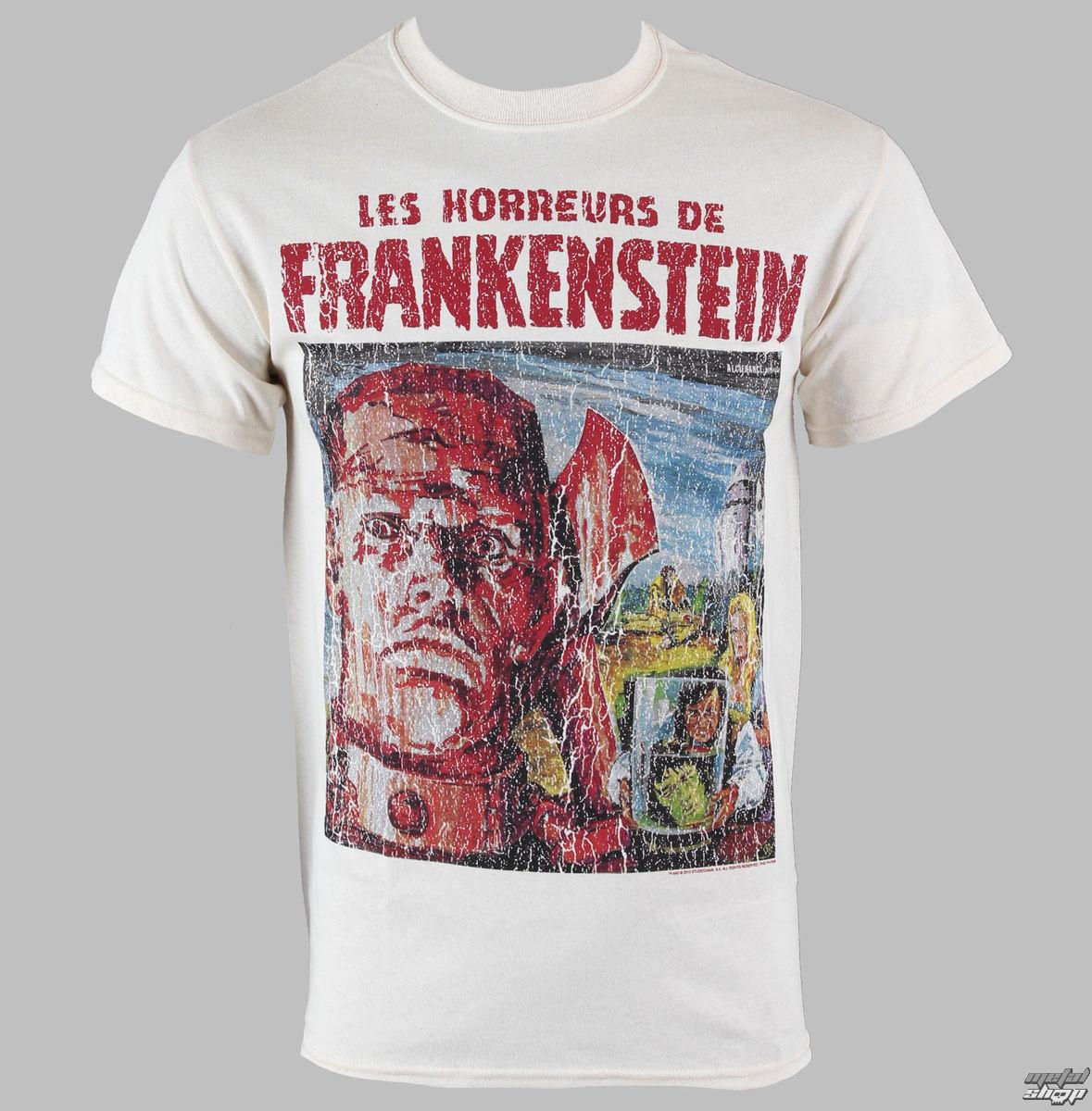 tričko pánske Horror Of Frankenstein - PLASTIC HEAD - PH7648