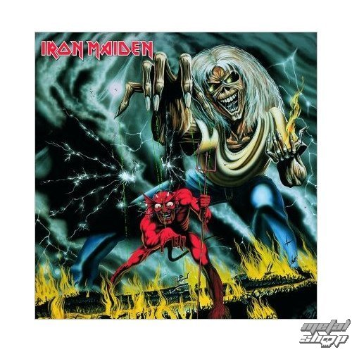 prianie Iron Maiden - Number of the Beast - ROCK OFF - IMC03
