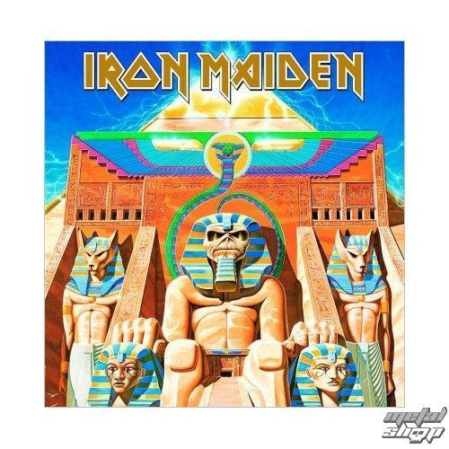 prianie Iron Maiden - Power Slave - ROCK OFF - IMC06