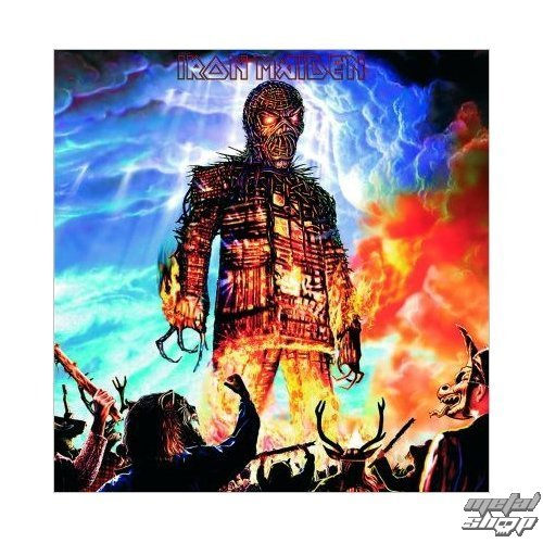 prianie Iron Maiden - Wicker Man - ROCK OFF - IMC07