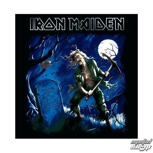 prianie Iron Maiden - Benjamin Breeg - ROCK OFF - IMC08