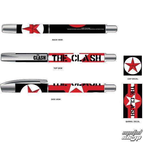 prepisovačka The Clash - Star & Stripes - ROCK OFF - CLPEN01