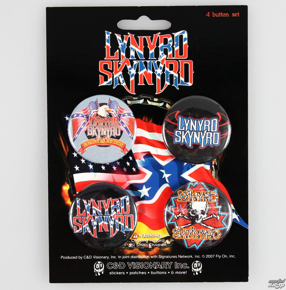 odznaky Lynyrd Skynyrd - CDV - B-0564