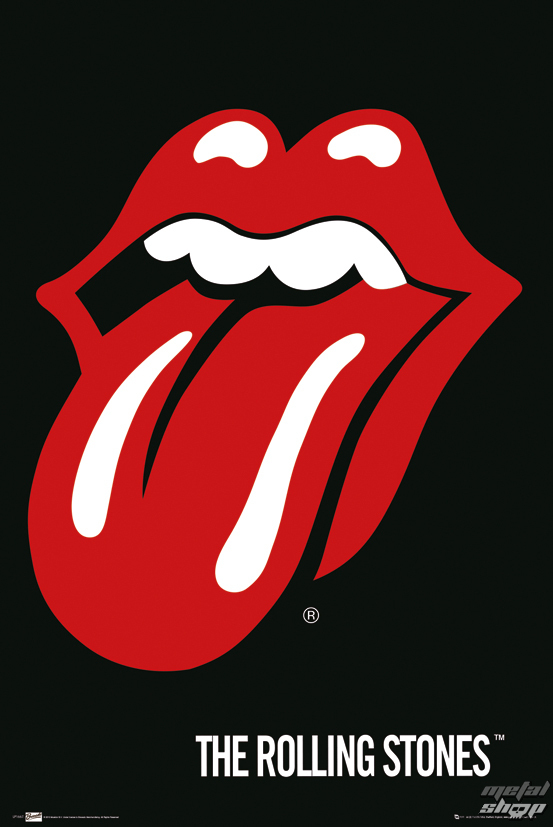 plagát The Rolling Stones - Lips - LP1667