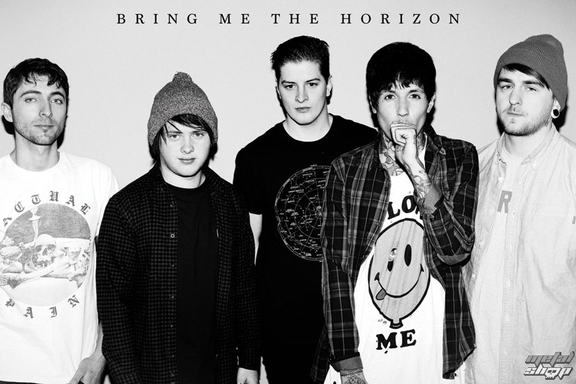 plagát Bring Me The Horizon - Black&W - LP1649