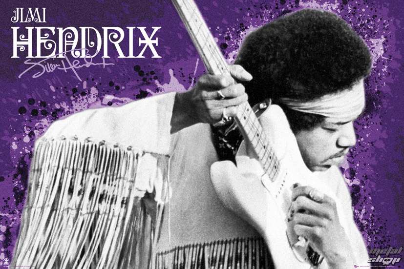 plagát Jimi Hendrix - Purple - LP1642