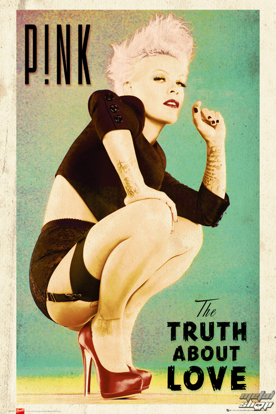plagát Pink - The Truth About Love - LP1612