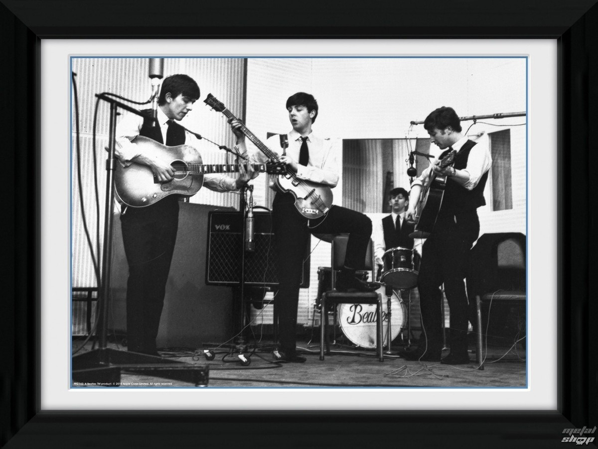 plagát + rám The Beatles - Studio - PFC142