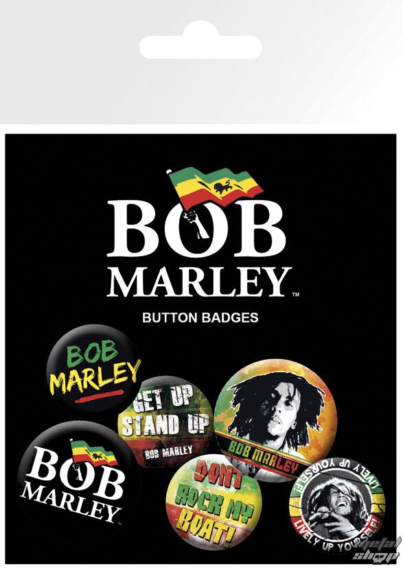 odznaky Bob Marley - Logos - BP0451