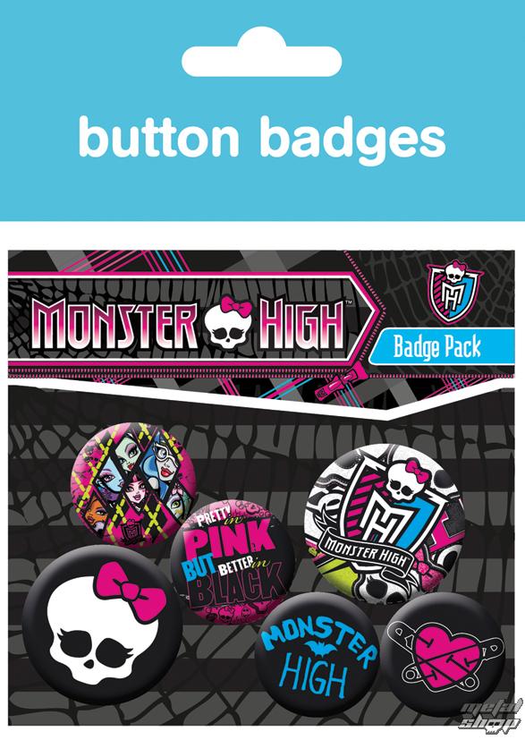 odznaky Monster High - Graphics - BP0346