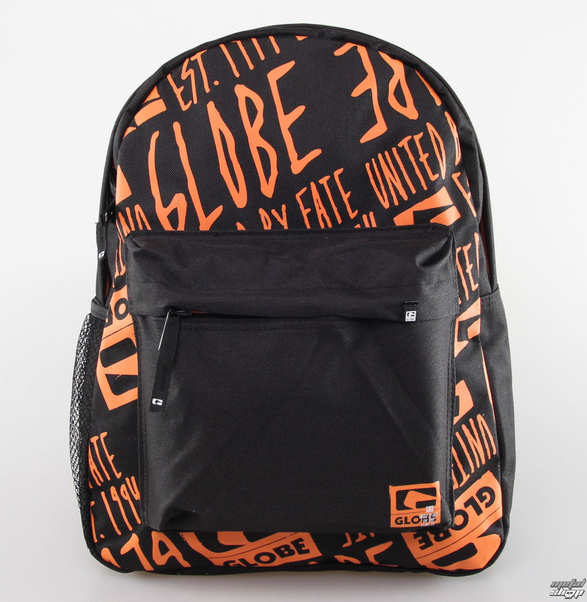 batoh GLOBE - Single - Black / Orange