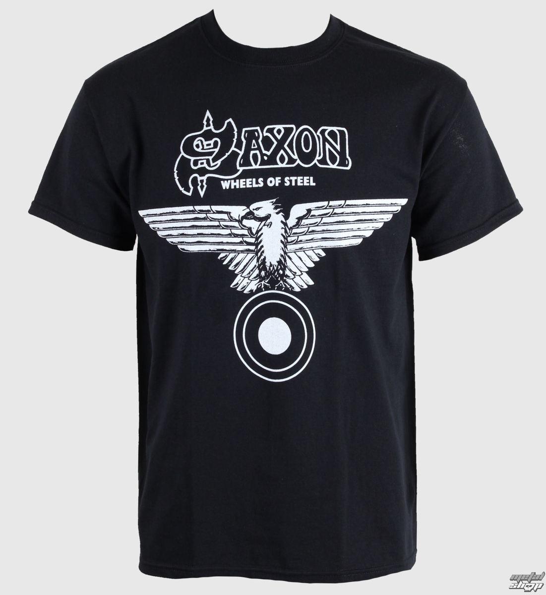 tričko pánske Saxon - Wheels Of Steel - RAZAMATAZ - ST0334