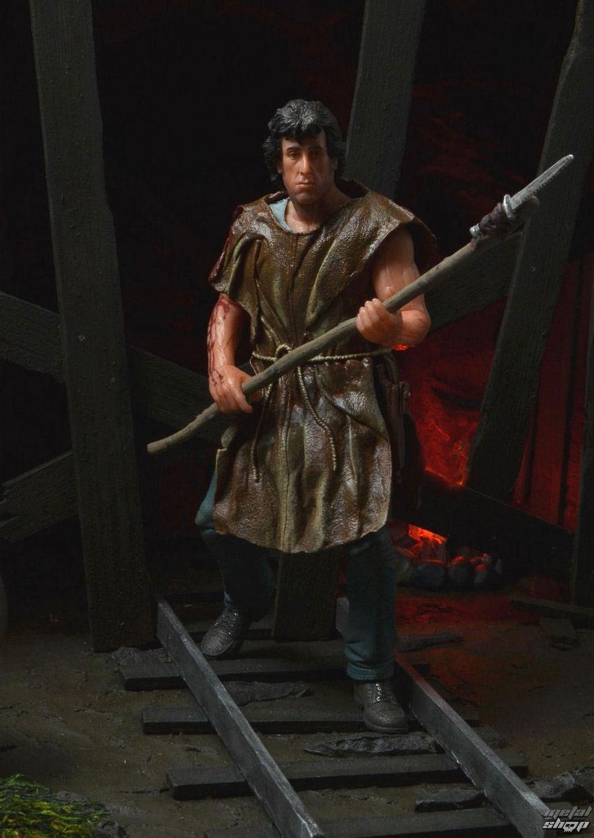 figúrka John Rambo - First Blood Deluxe Actoin Figure - Survival Version - NECA53502