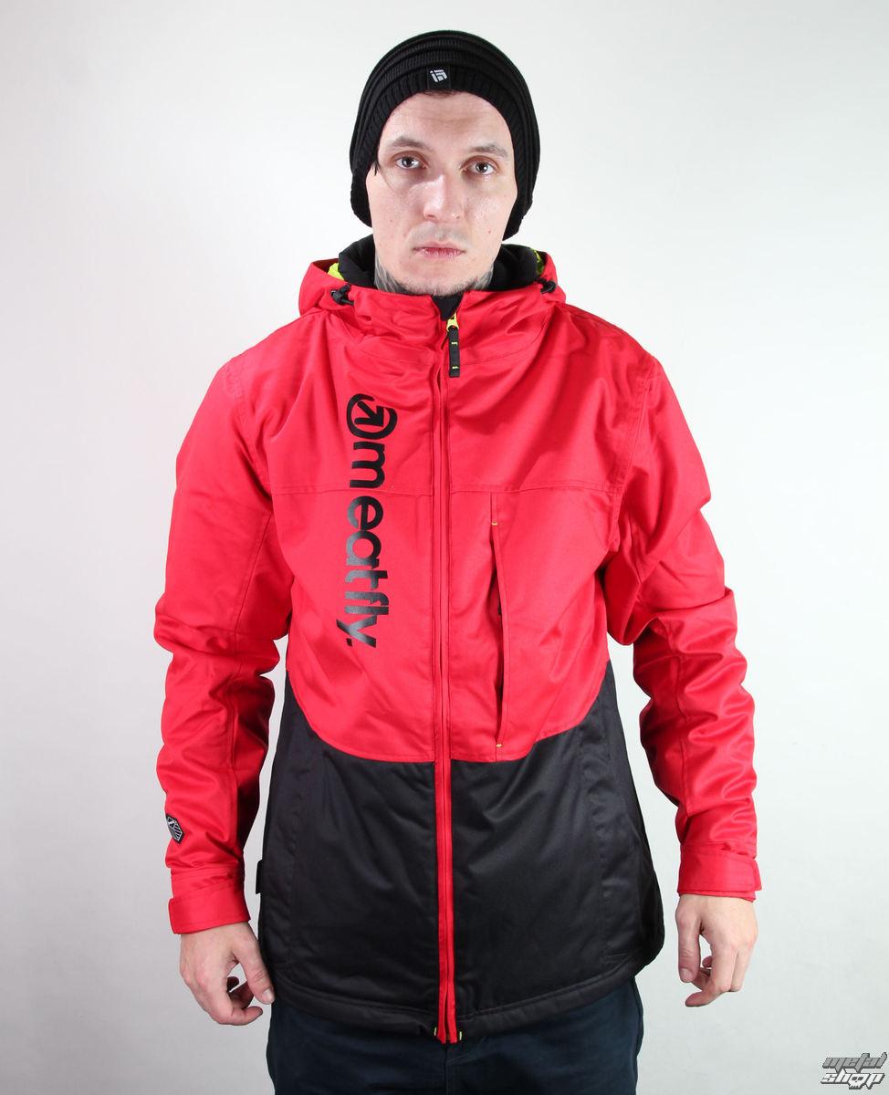 bunda pánska zimný -snb- MEATFLY - Marthus - F - RED-BLACK