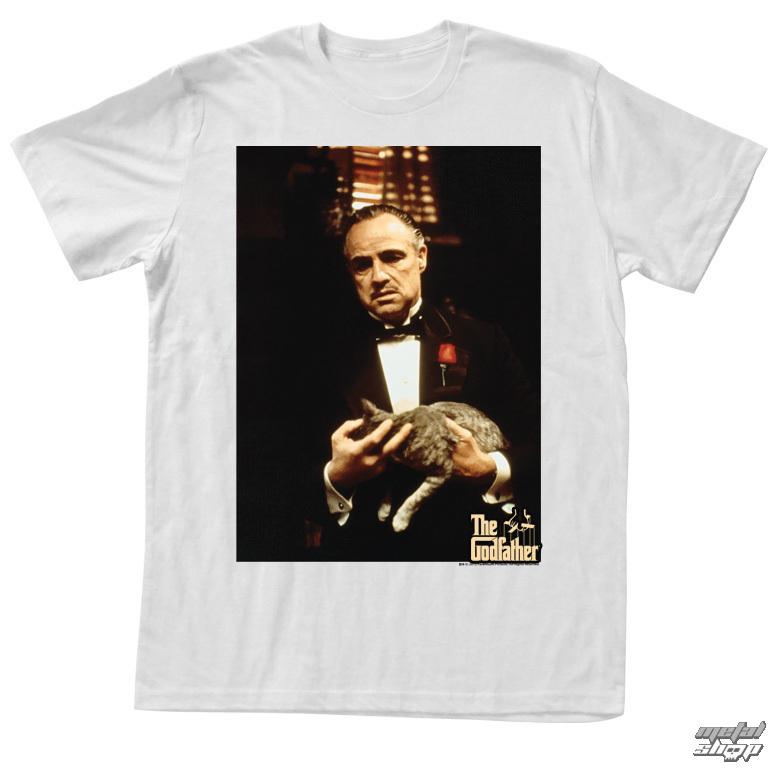 tričko pánske Kmotr - Cat - Leone - AC - GF5109