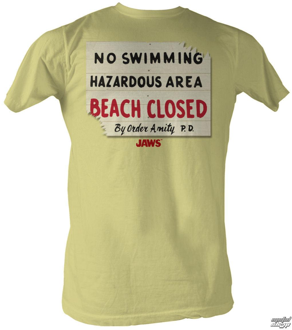 tričko pánske Čeľuste - Hazardous - AC - JAW561