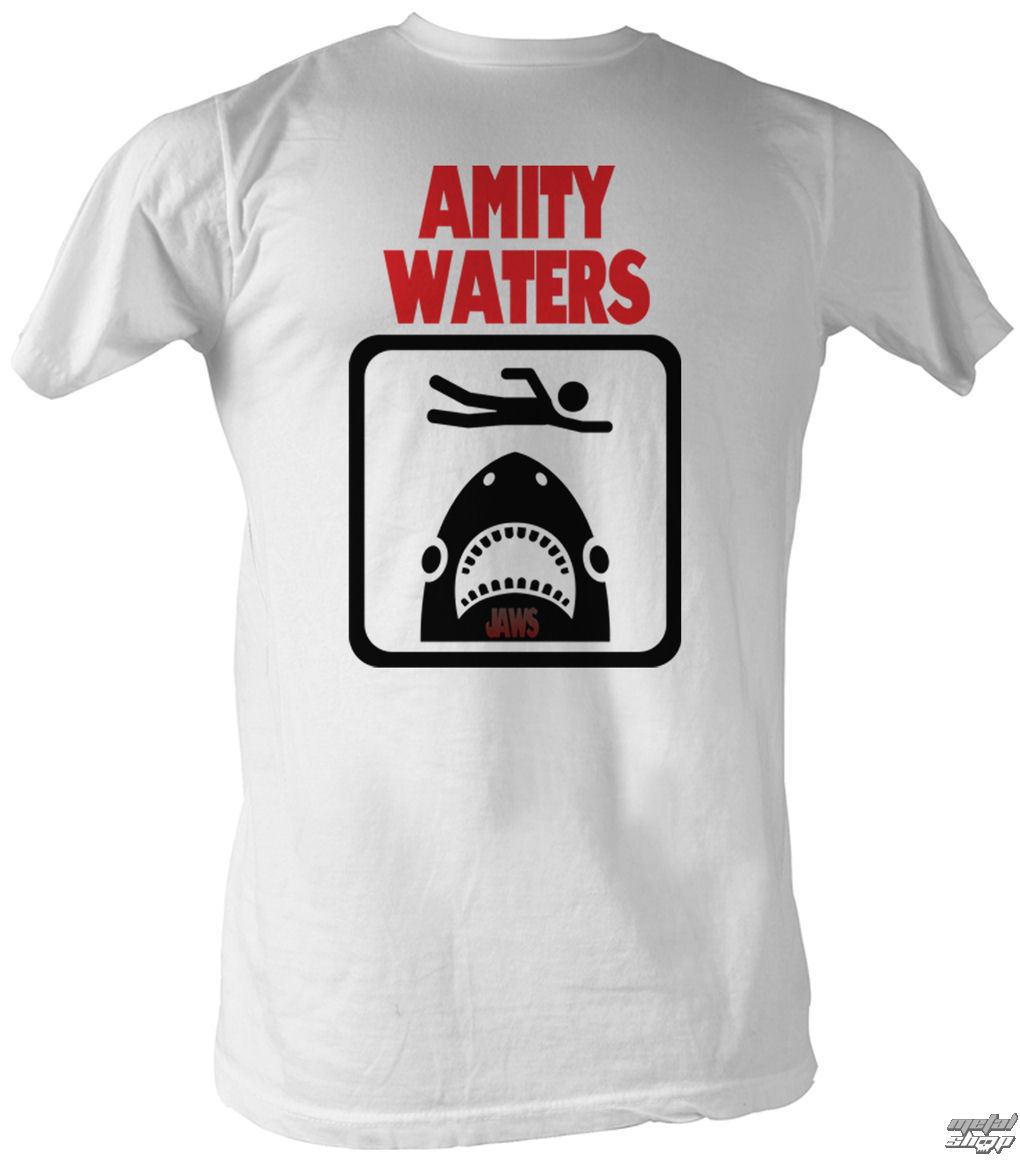 tričko pánske Čeľuste - Amity Waters - AC - JAW568