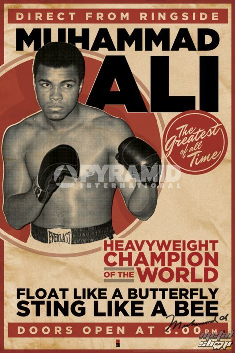 plagát Muhammad Ali - Vintage - Corbis - PYRAMID POSTERS - PP32628
