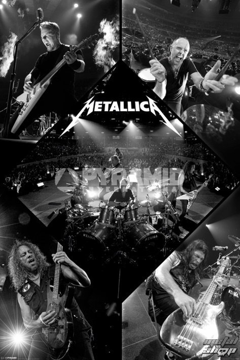 plagát Metallica - Live - PYRAMID POSTERS - PP32830