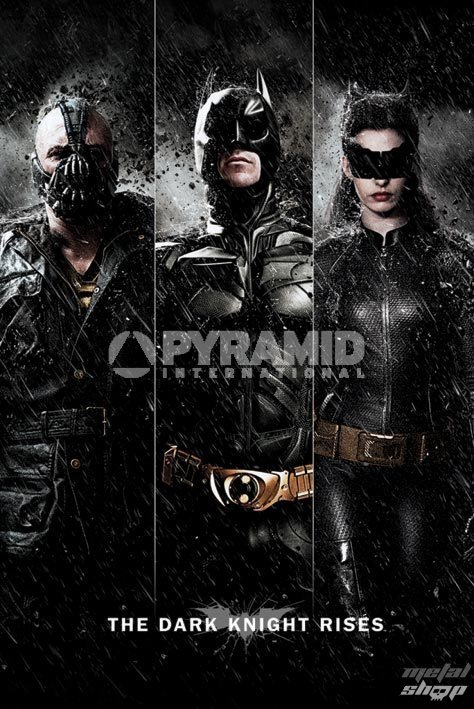 plagát Batman - The Dark Knight Rises - Three - PYRAMID POSTERS - PP32866