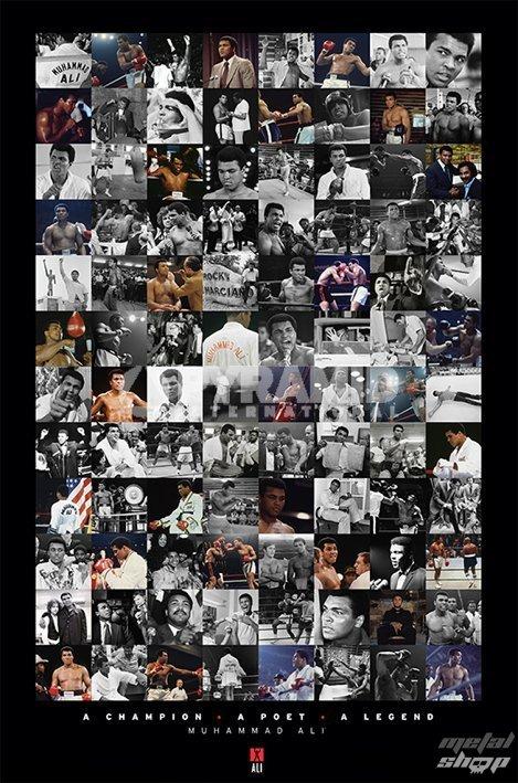 plagát Muhammad Ali - Montage - Mae - PYRAMID POSTERS - PP32974