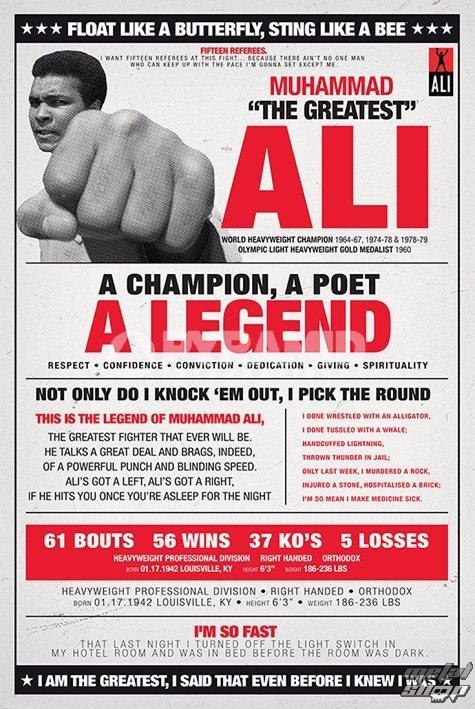 plagát Muhammad Ali - Vintage - Corbis - PYRAMID POSTERS - PP32979
