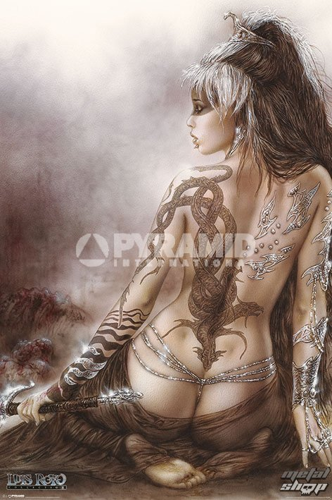 plagát Luis Royo - Subversive Beauty - PYRAMID POSTERS - PP33090