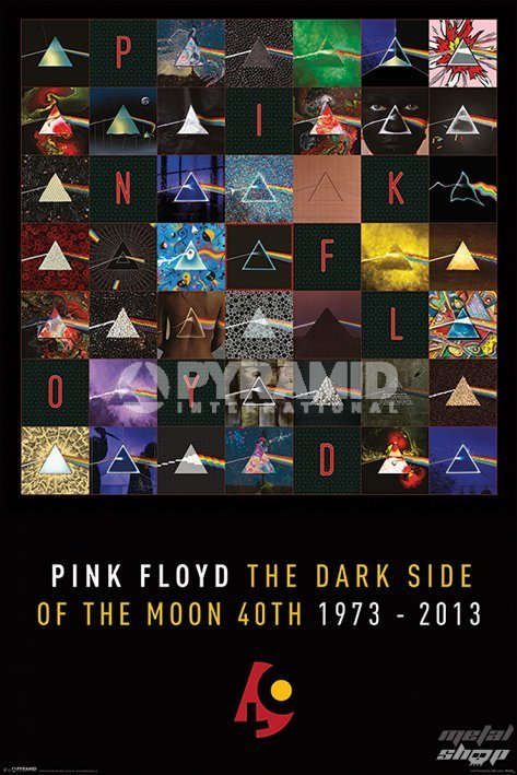 plagát Pink Floyd - Dark Side Of The Moon - PYRAMID POSTERS - PP33109