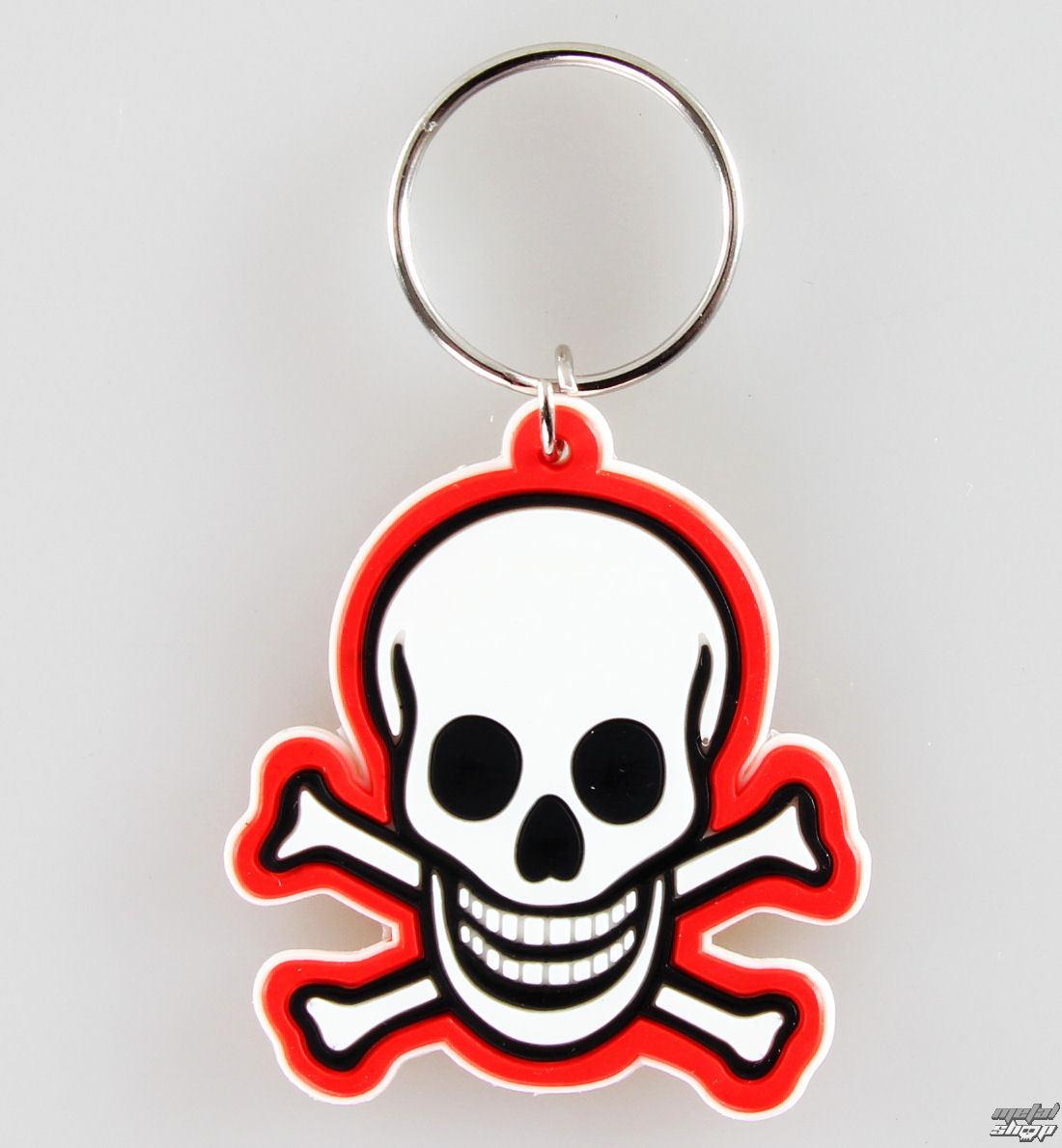 kľúčenka (prívesok) Skull - N Bones Toxi - PYRAMID POSTERS - RK38038