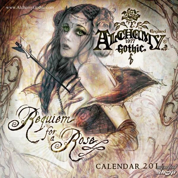kalendár na rok 2014 Alchemy - PYRAMID POSTERS - C12001