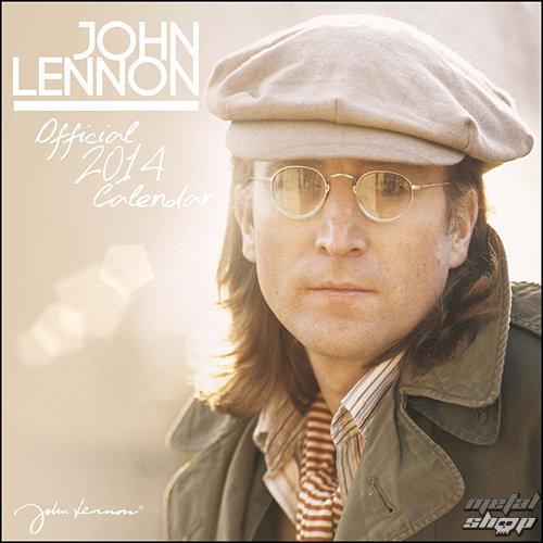kalendár na rok 2014 John Lennon - PYRAMID POSTERS - C12013