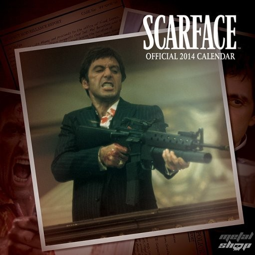 kalendár na rok 2014 Scarface - PYRAMID POSTERS - C12022
