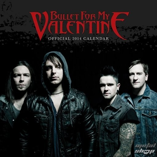 kalendár na rok 2014 Bullet For My Valentine - PYRAMID POSTERS - C12049