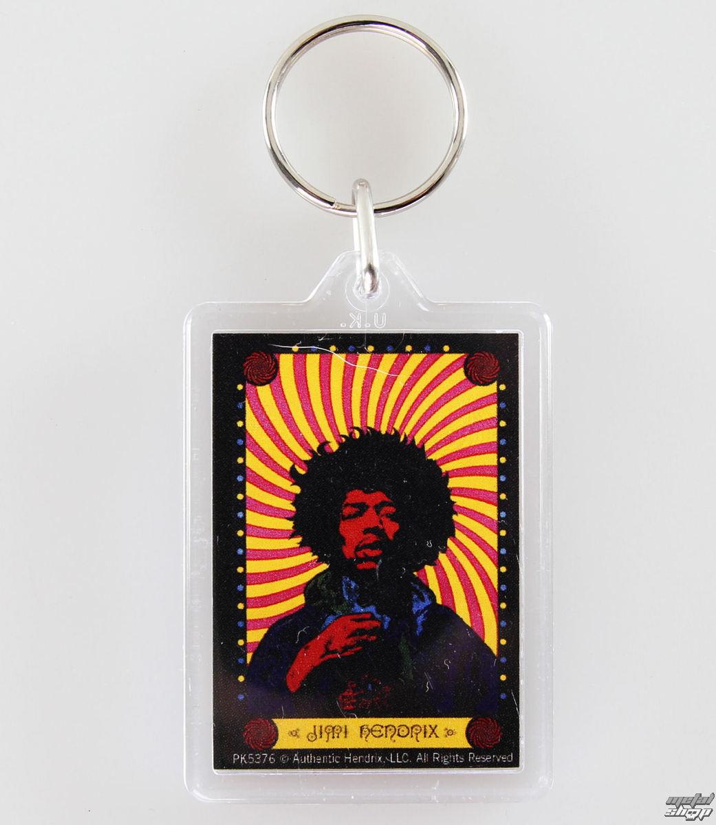 kľúčenka (prívesok) Jimi Hendrix - Pyschedelic - PYRAMID POSTERS - PK5376