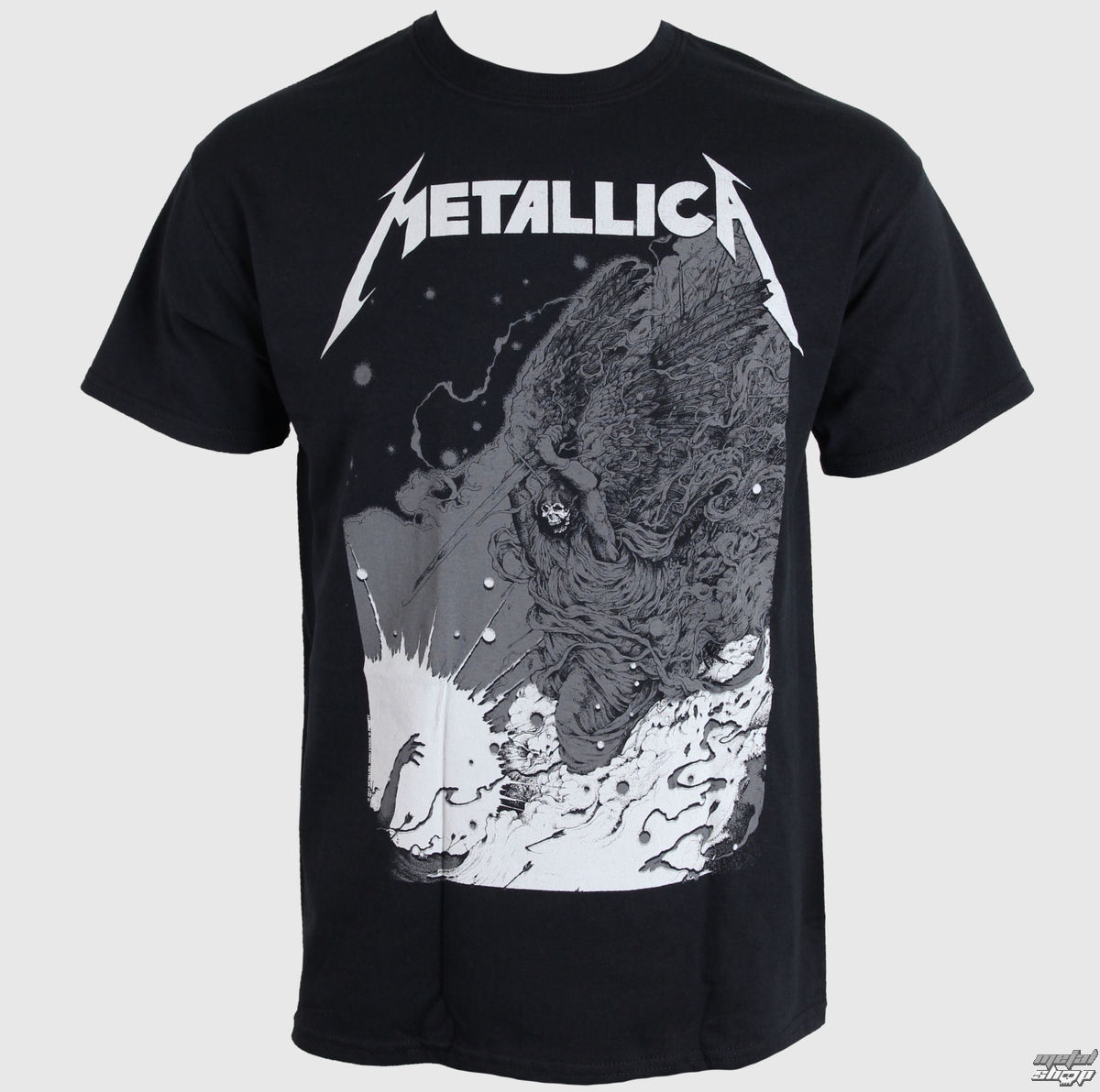 tričko pánske Metallica - Phantom Lord - Black - LIVE NATION - RTMTL10621
