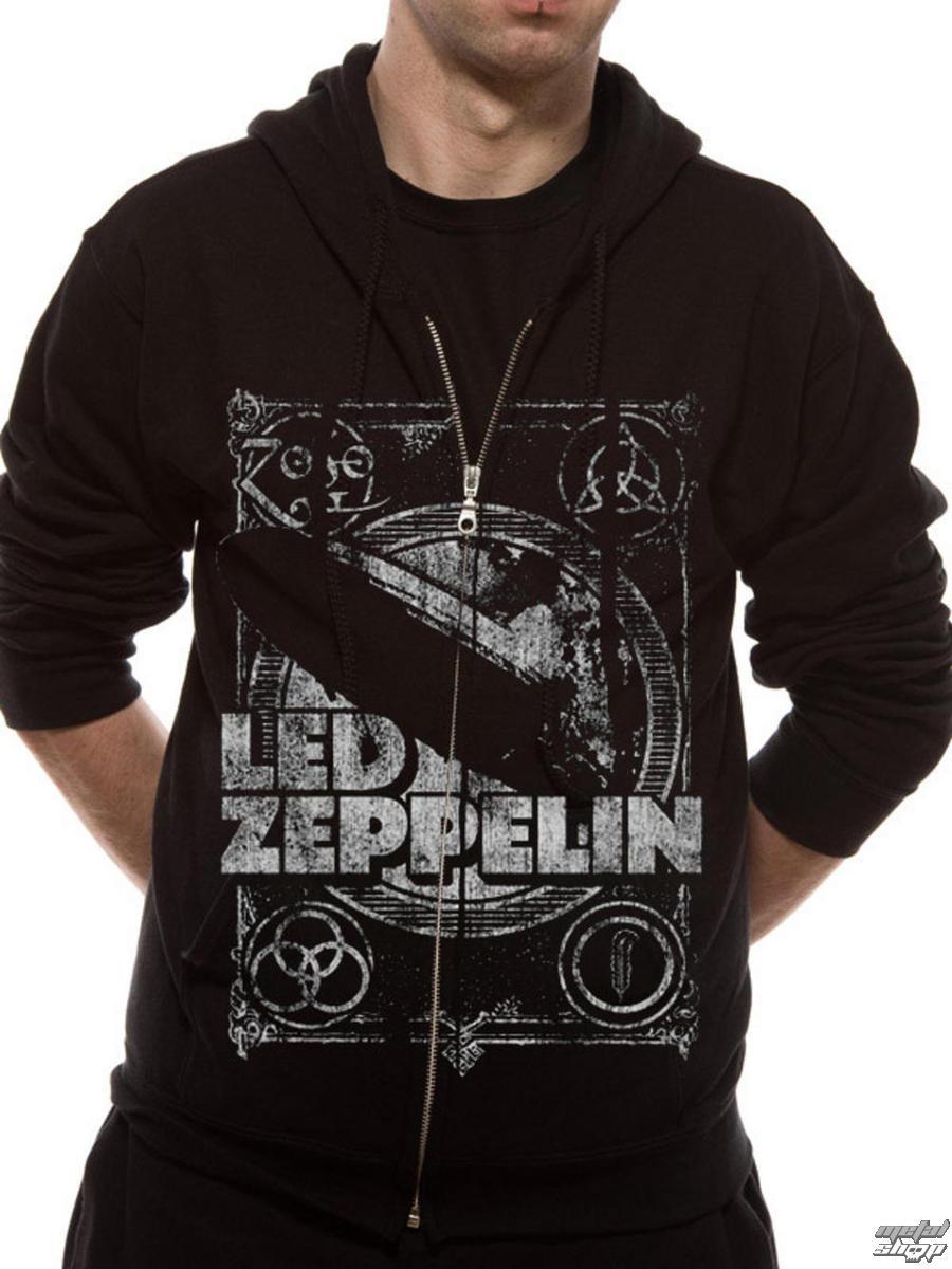 mikina p�nska Led Zeppelin - Shook Me - Black - LIVE NATION - RTLZE0740