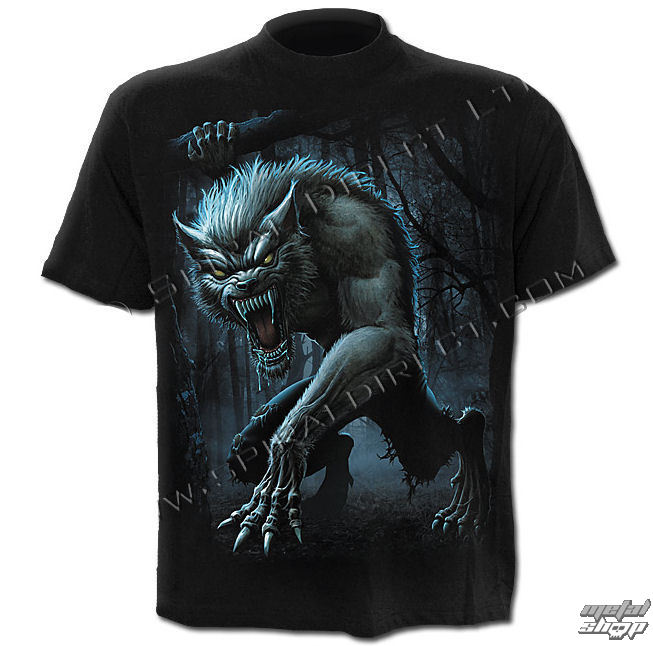 tričko pánske SPIRAL - Lycan Nights - DW203600